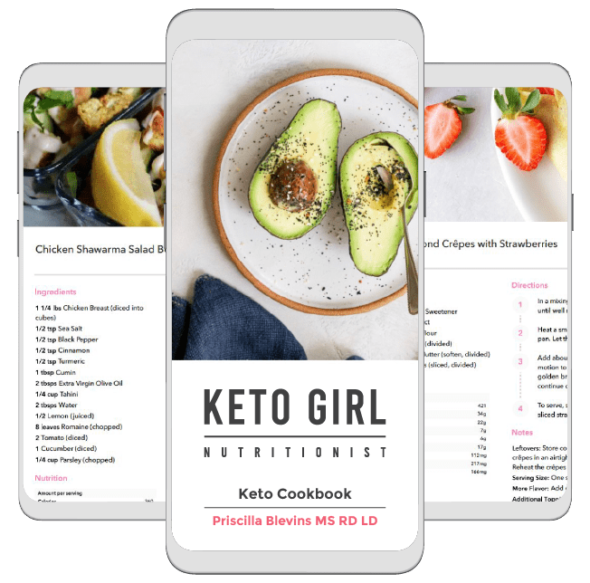 best keto recipes cookbook preview photo